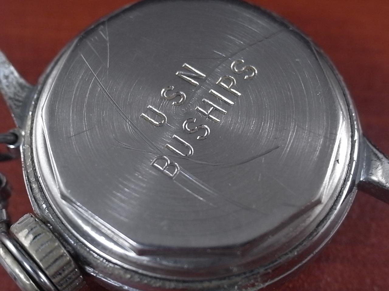 ハミルトン 軍用時計 米海軍 USN BUSHIPS 1940年代の写真4枚目