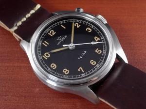 レマニア 軍用時計 スウェーデン軍 Tg195 ラージスリークラウンズ 1950年代
