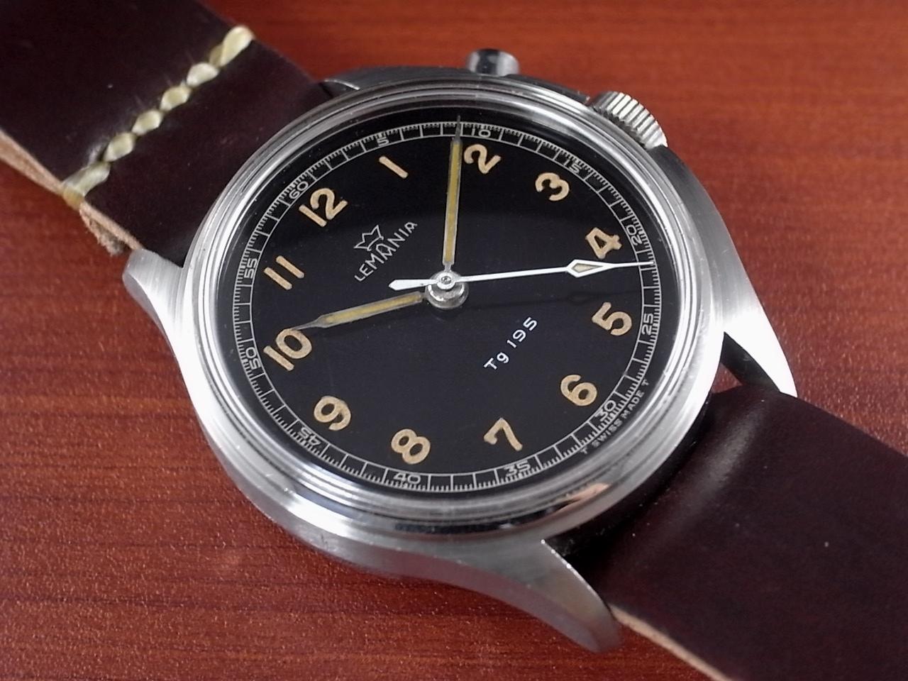 レマニア 軍用時計 スウェーデン軍 Tg195 ラージスリークラウンズ 1950年代のメイン写真