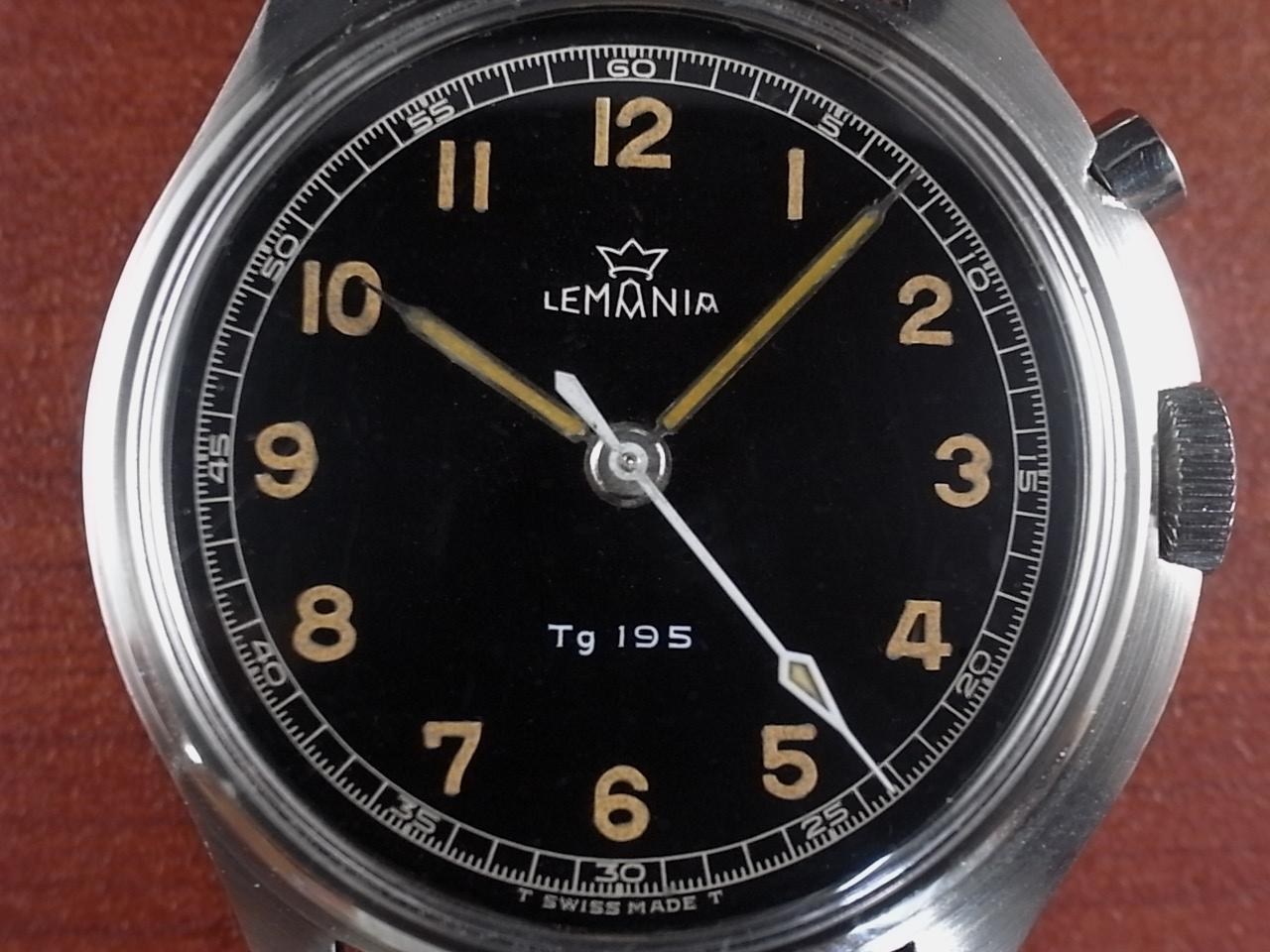 レマニア 軍用時計 スウェーデン軍 Tg195 ラージスリークラウンズ 1950年代の写真2枚目