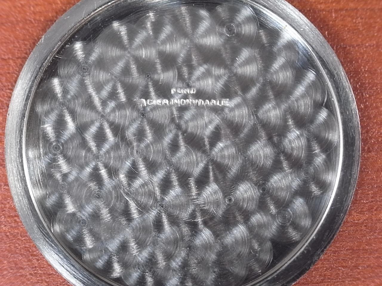 グラナ カースフレアース 未使用品 アールデコ ブラックミラーダイアル 1940年代の写真6枚目