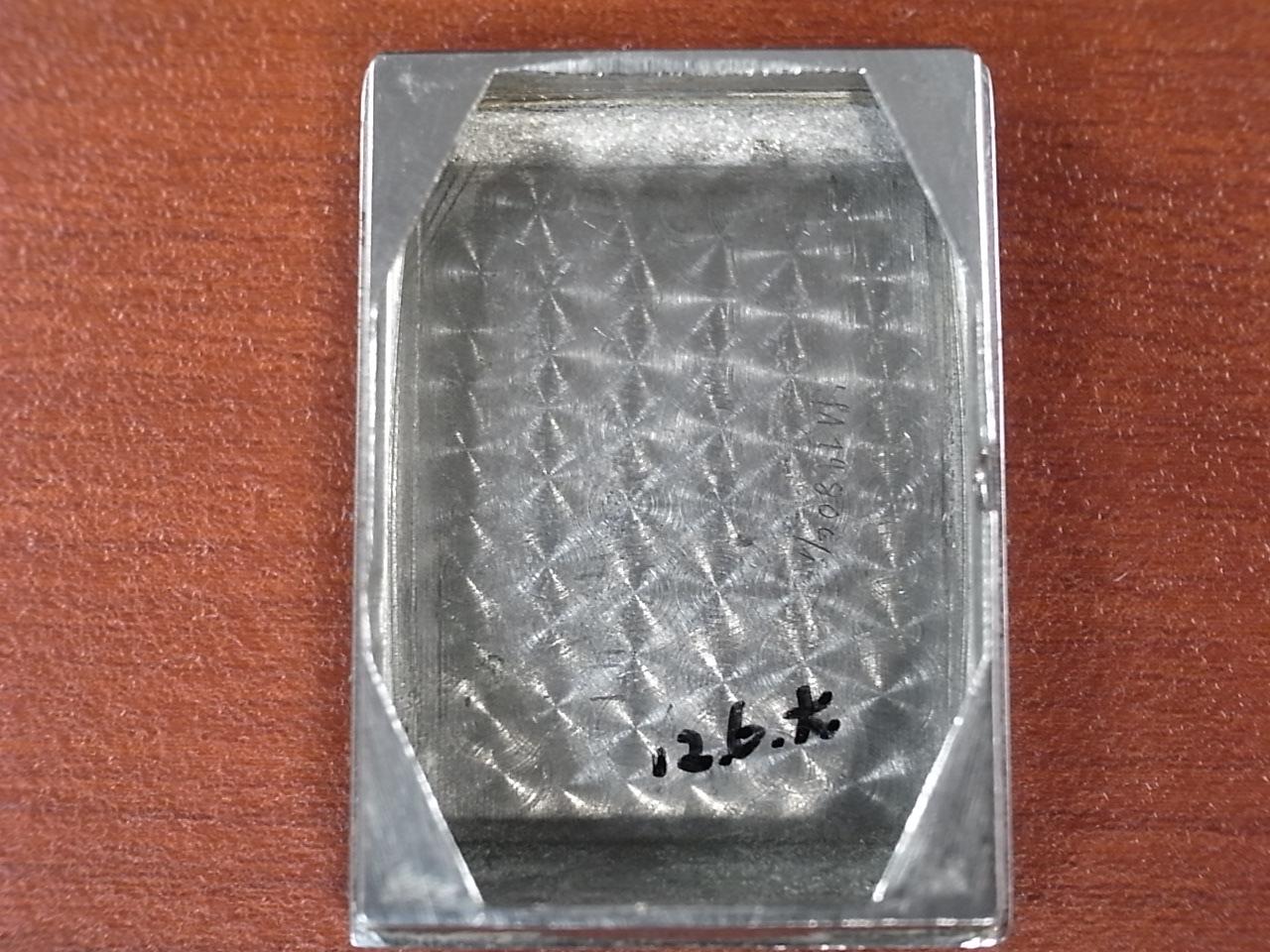 ジャガールクルト レクタンギュラー ブラックDL アールデコ 1940年代の写真6枚目