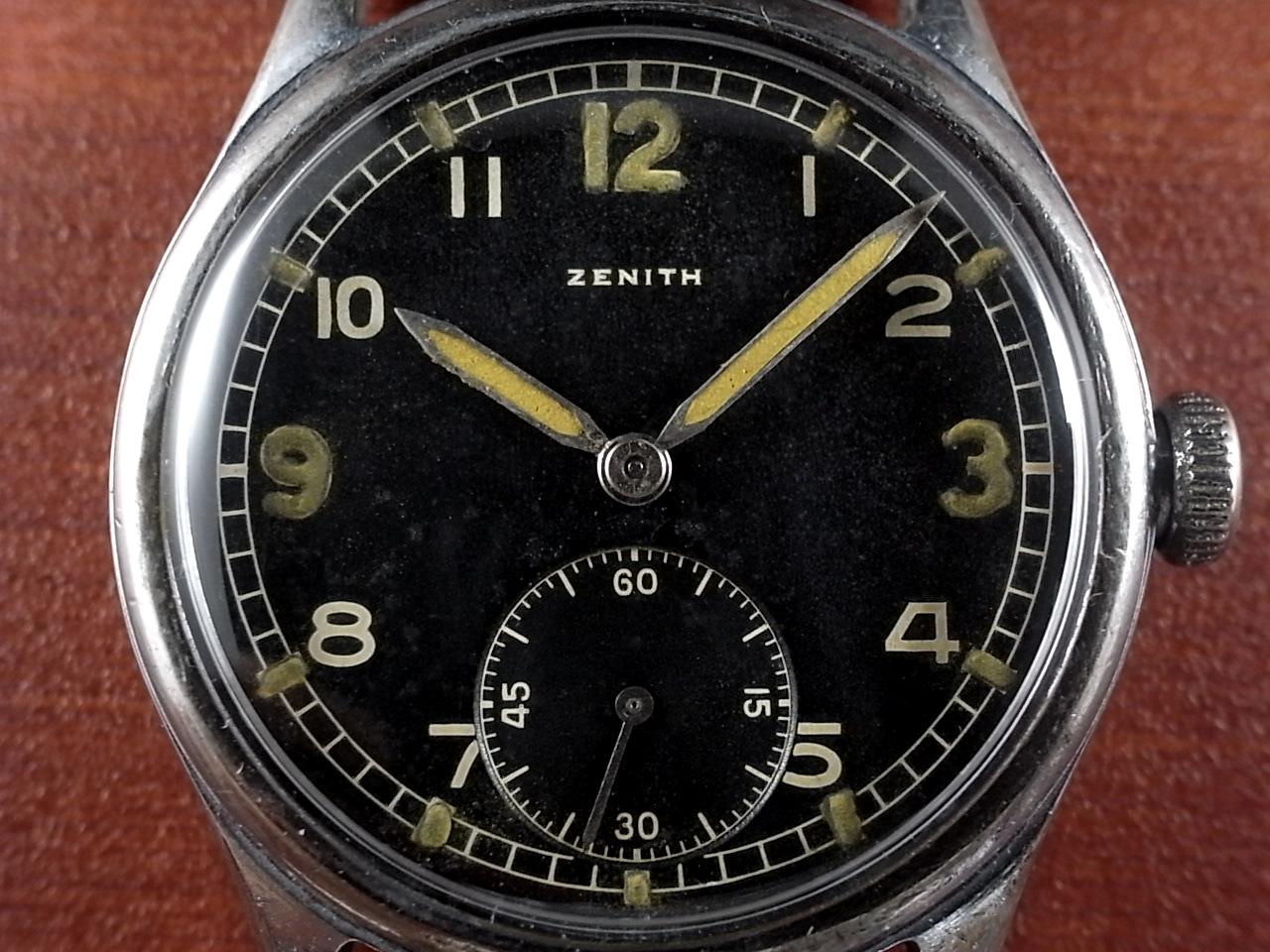 ゼニス 軍用時計 ドイツ陸軍 DH WW2 1940年代の写真2枚目