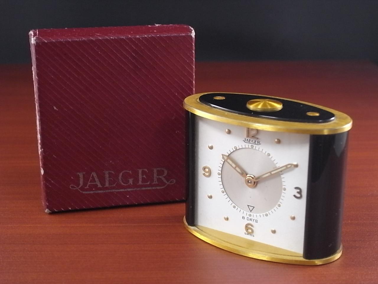 ジャガー アラームクロック 8DAYS 箱付 1960年代の写真3枚目