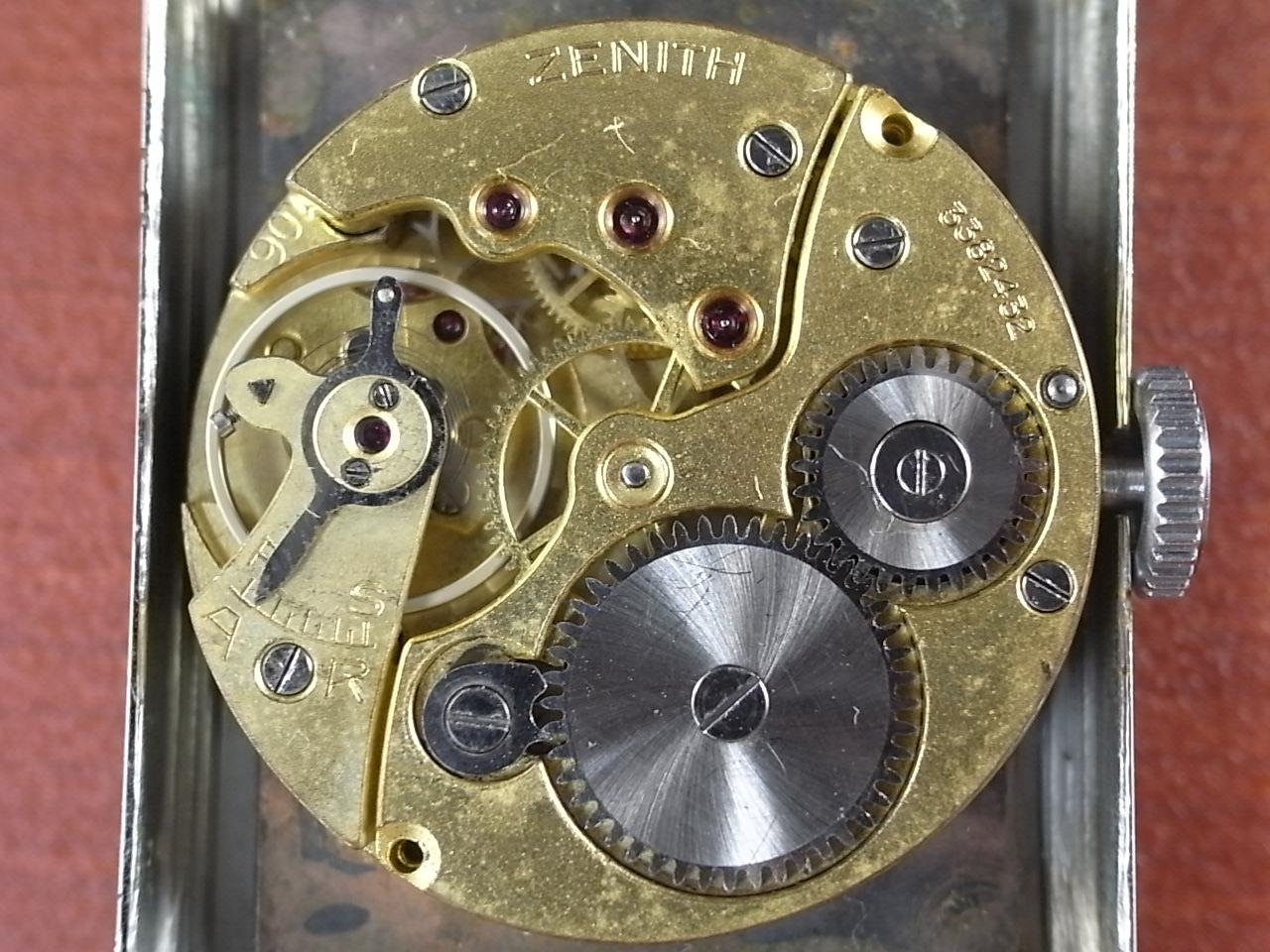ゼニス アールデコ レクタンギュラー 2トーンダイアル 1930年代の写真5枚目