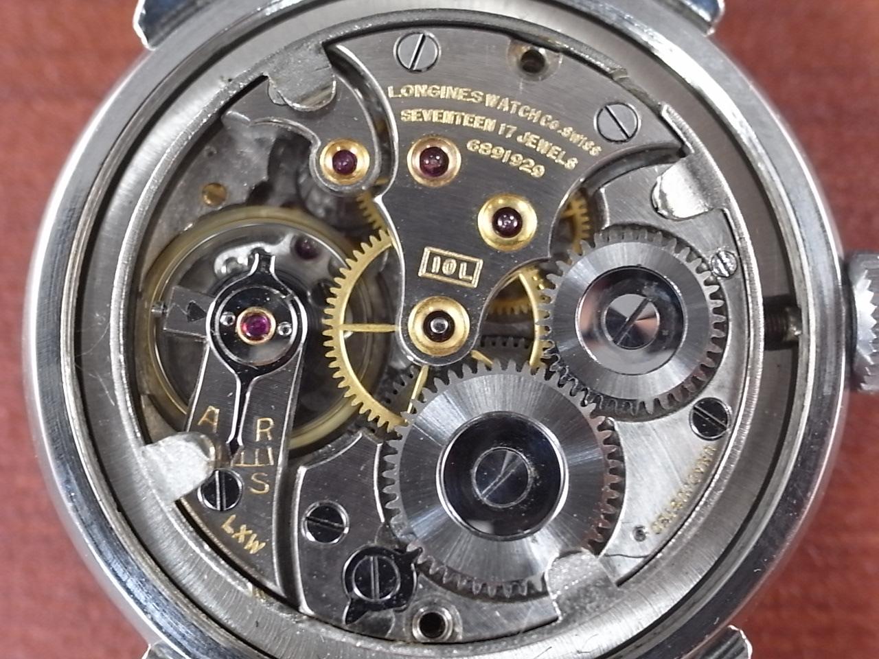 ロンジン ローマンインデックス Cal.10L(10.68Z) スクリューバック 1940年代の写真5枚目