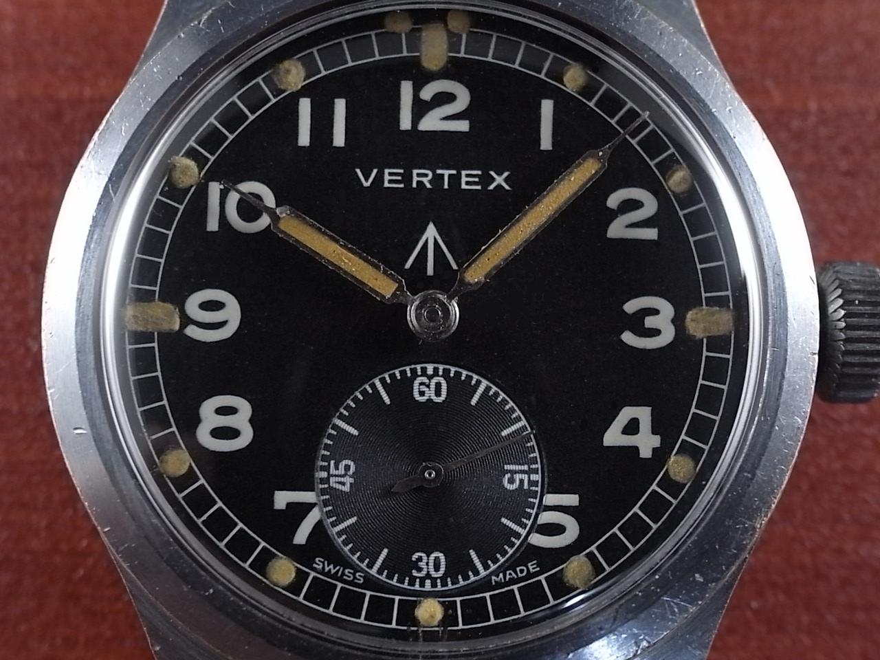 バーテックス 軍用時計 英陸軍 W.W.W. 1940年代の写真2枚目