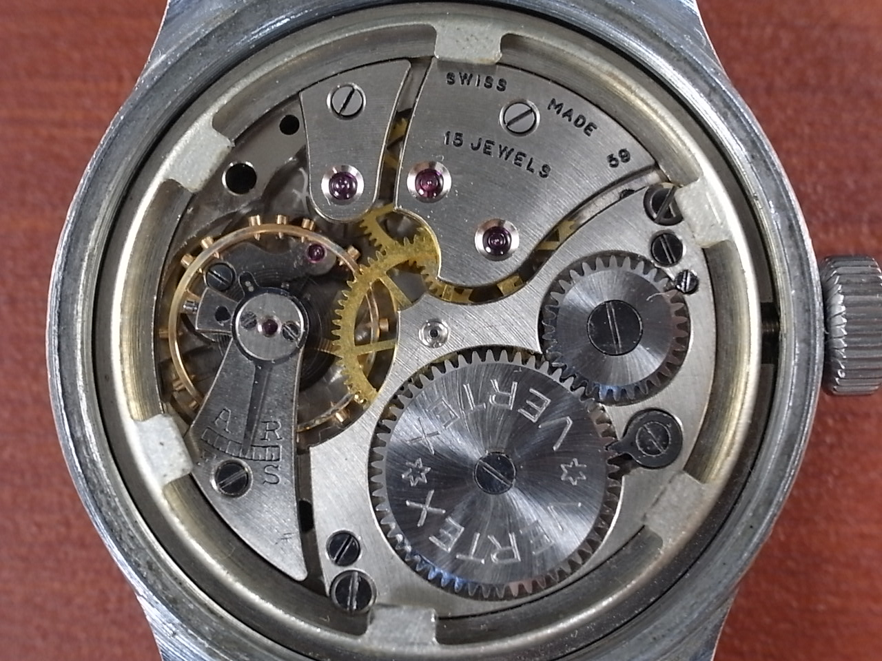 バーテックス 軍用時計 英陸軍 W.W.W. 1940年代の写真5枚目