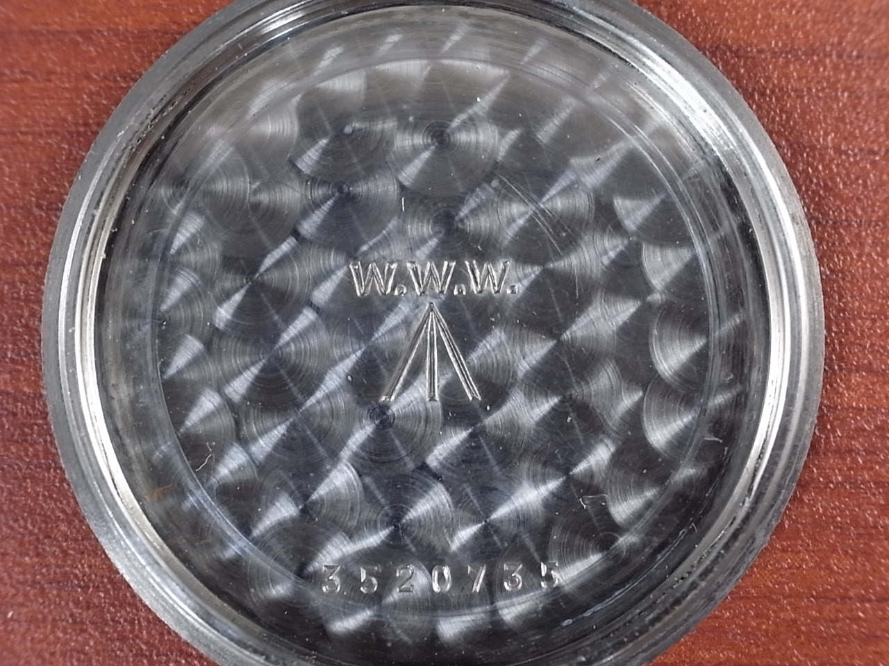 バーテックス 軍用時計 英陸軍 W.W.W. 1940年代の写真6枚目