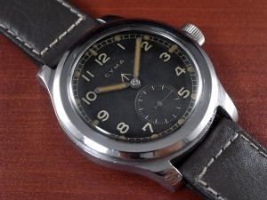 シーマ 軍用時計 英陸軍 W.W.W.  SSラージケース 1940年代