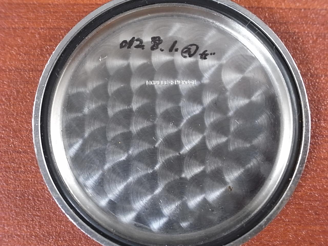 ミネルバ クロノグラフ Cal.20CH スナップ防水ケース ラージプッシャー 1940年代の写真6枚目