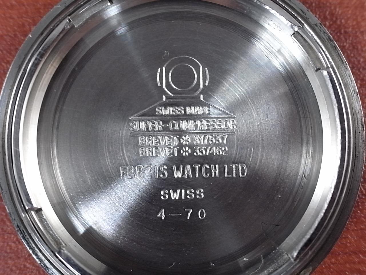 フォルティス マリーンマスター ダイバーズウオッチ スーバーコンプレッサー 1970年代の写真6枚目