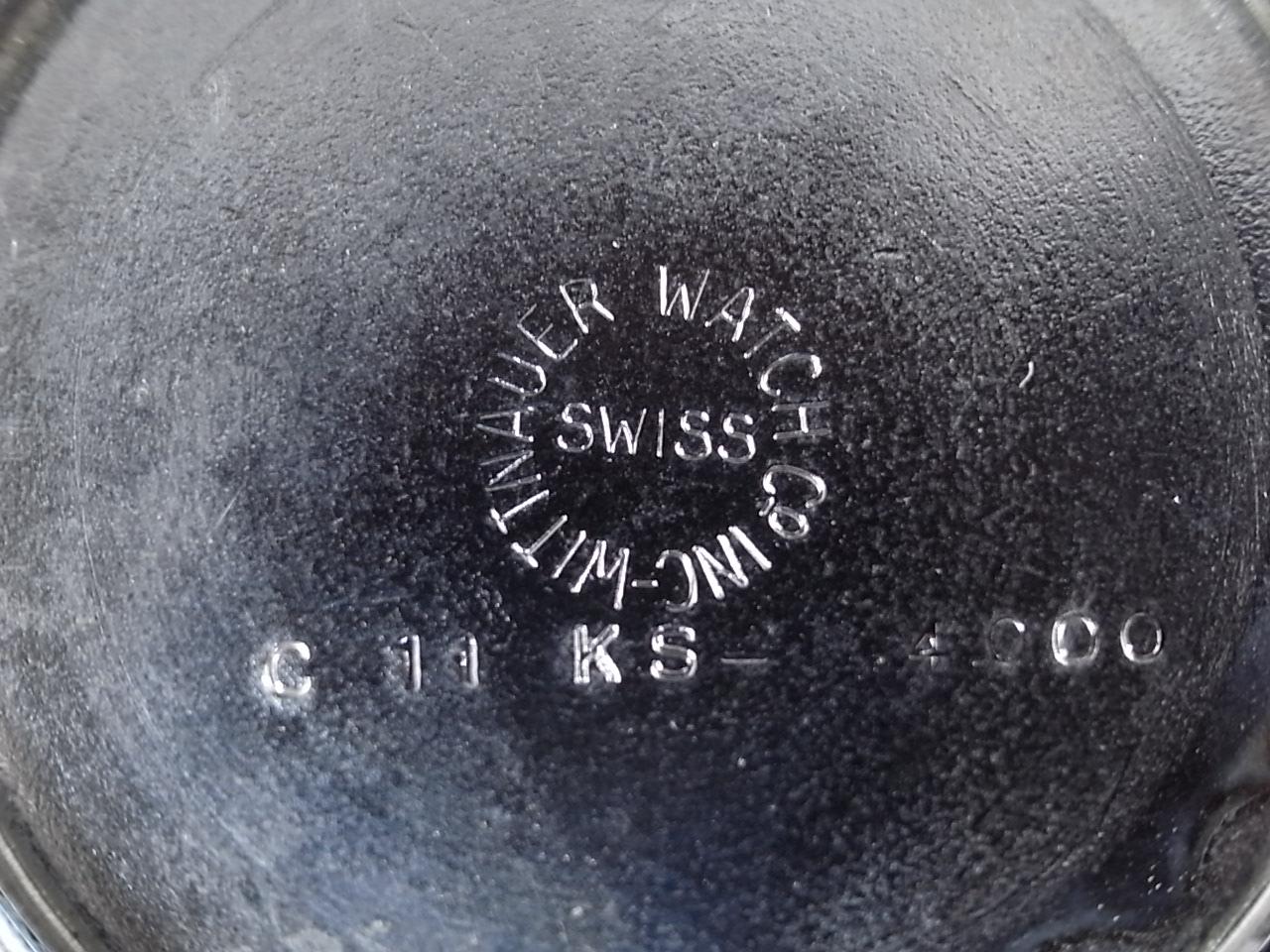 ウィットナー ダイバーズウォッチ ニューオールドストック(未使用品) 1960年代の写真6枚目