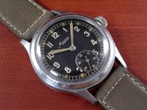 ミネルバ 軍用時計 ドイツ陸軍 DH スクリューバック 1940年代
