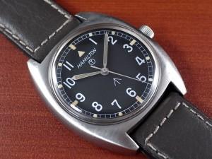 ハミルトン 軍用時計 イギリス陸軍 W10 トノーケース 1970年代