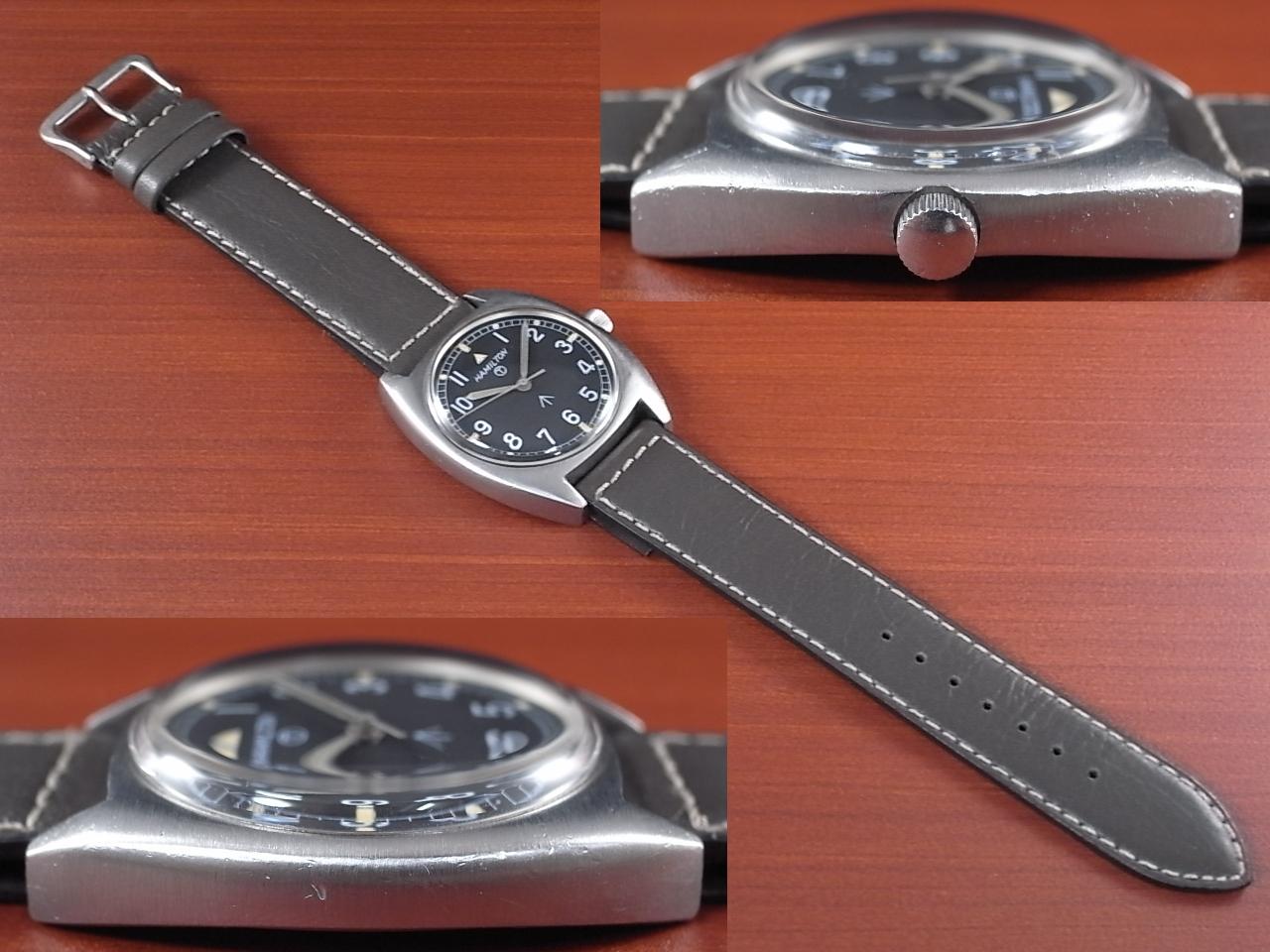 ハミルトン 軍用時計 イギリス陸軍 W10 トノーケース 1970年代の写真3枚目