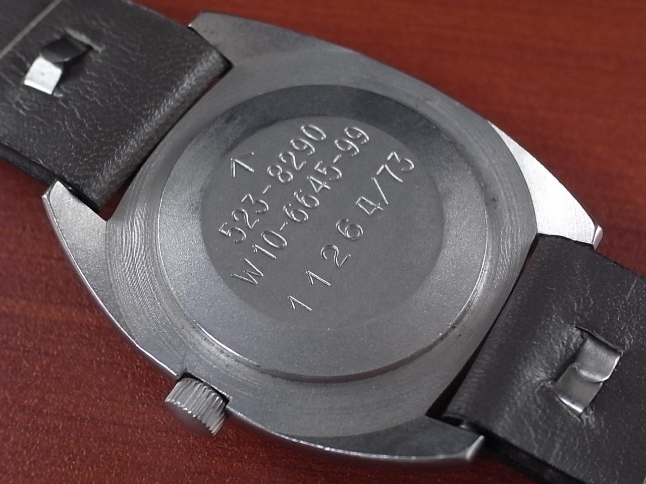 ハミルトン 軍用時計 イギリス陸軍 W10 トノーケース 1970年代の写真4枚目