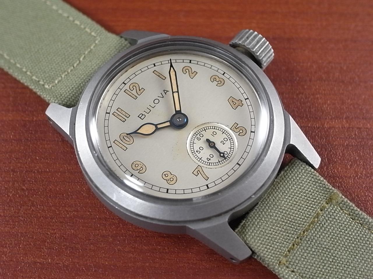 ブローバ 軍用時計 アメリカ陸軍 ホワイトダイアル 1940年代のメイン写真