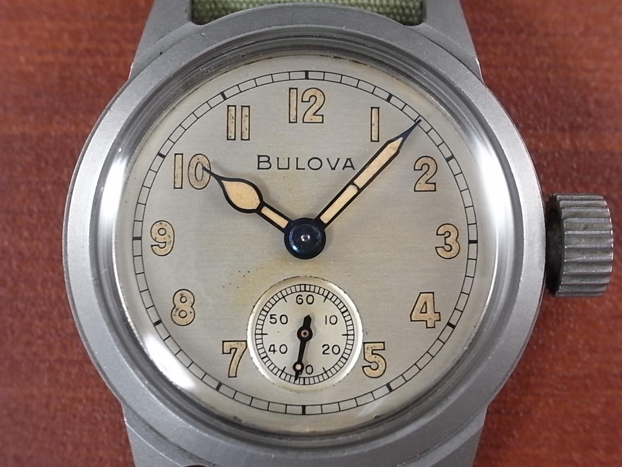 ブローバ 軍用時計 アメリカ陸軍 ホワイトダイアル 1940年代の写真2枚目