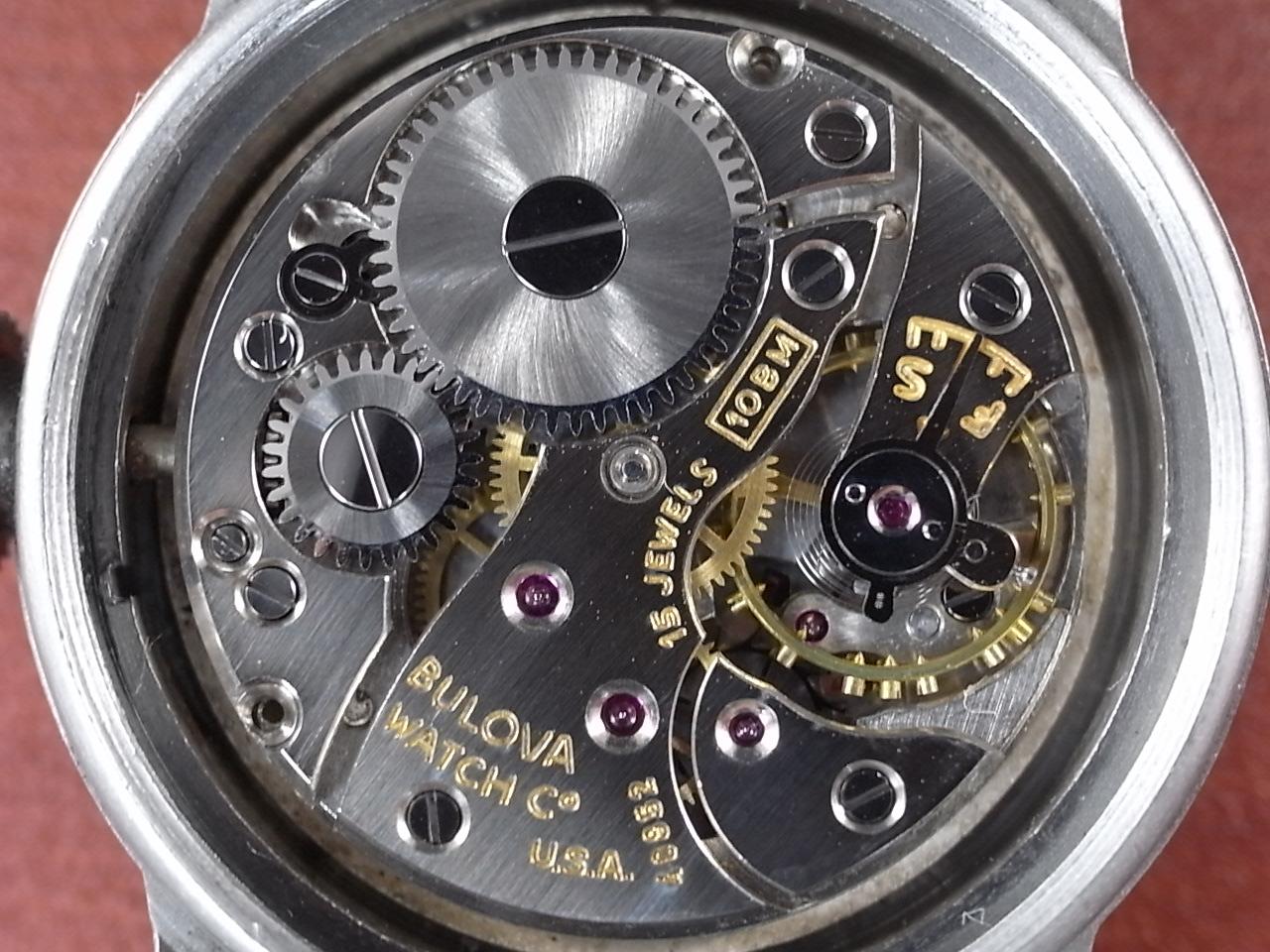 ブローバ 軍用時計 アメリカ陸軍 ホワイトダイアル 1940年代の写真5枚目