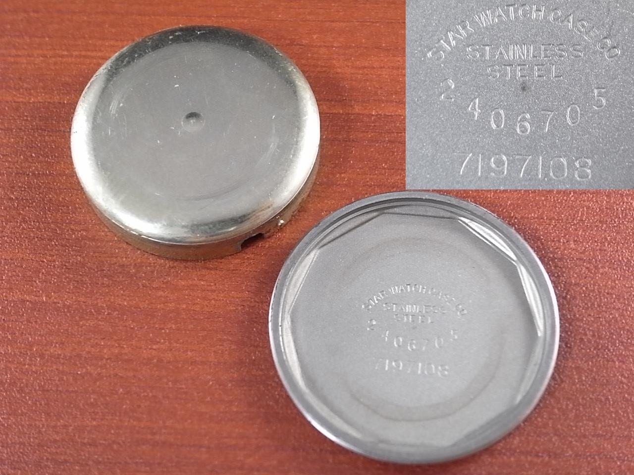 ブローバ 軍用時計 アメリカ陸軍 ホワイトダイアル 1940年代の写真6枚目