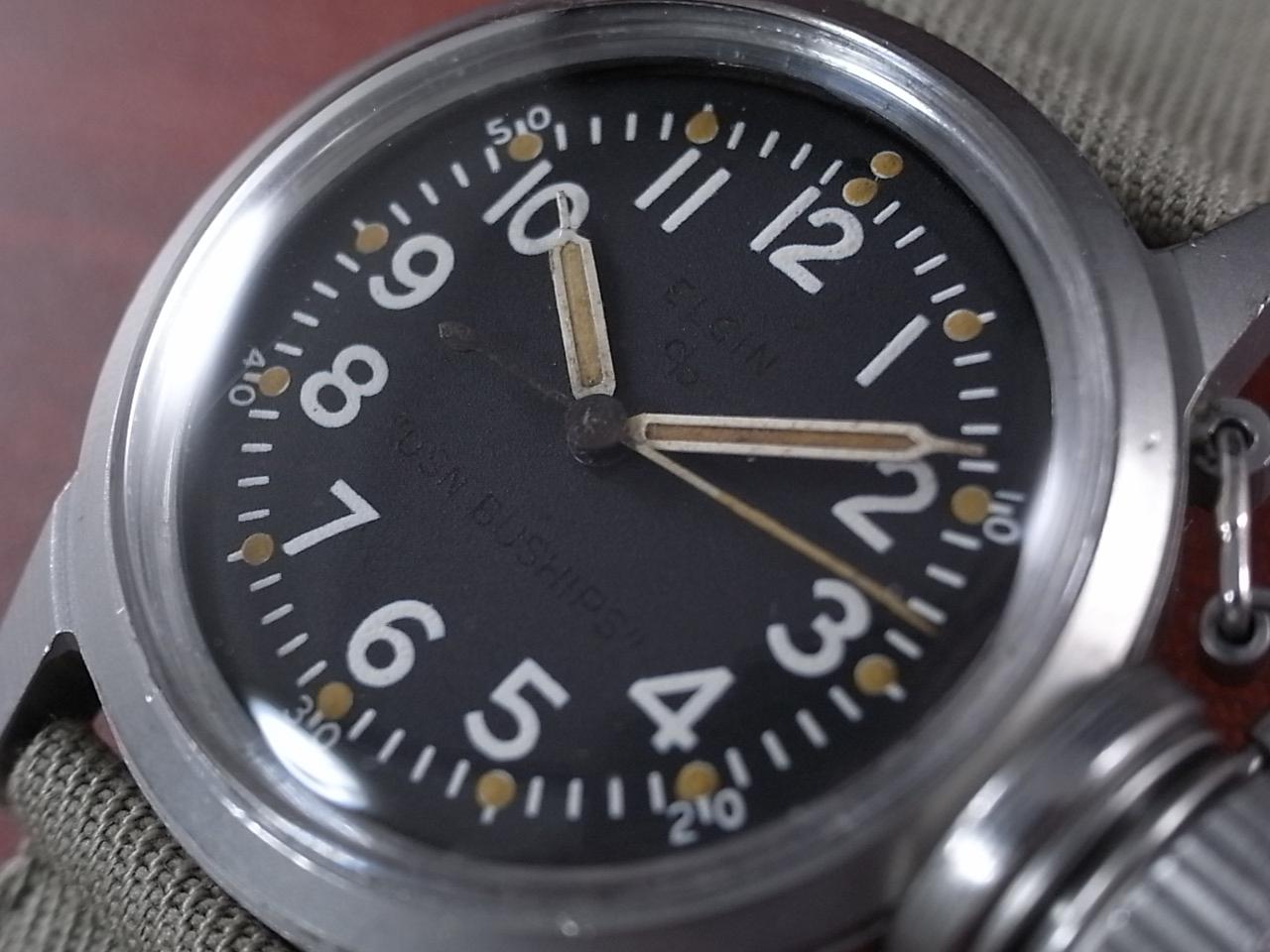 エルジン 軍用時計 アメリカ海軍 USN BUSHIPS   UDT(水中爆破チーム)の写真2枚目