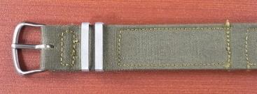 米軍 コットンベルト N.O.S. No.3 ワンピースタイプ 14、16mm 1940年代