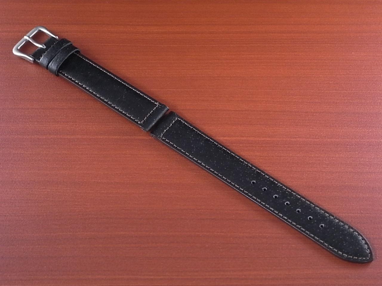 ピッグ革ベルト 黒 14、15、16、17、18、19、20mm CSA-001aのメイン写真