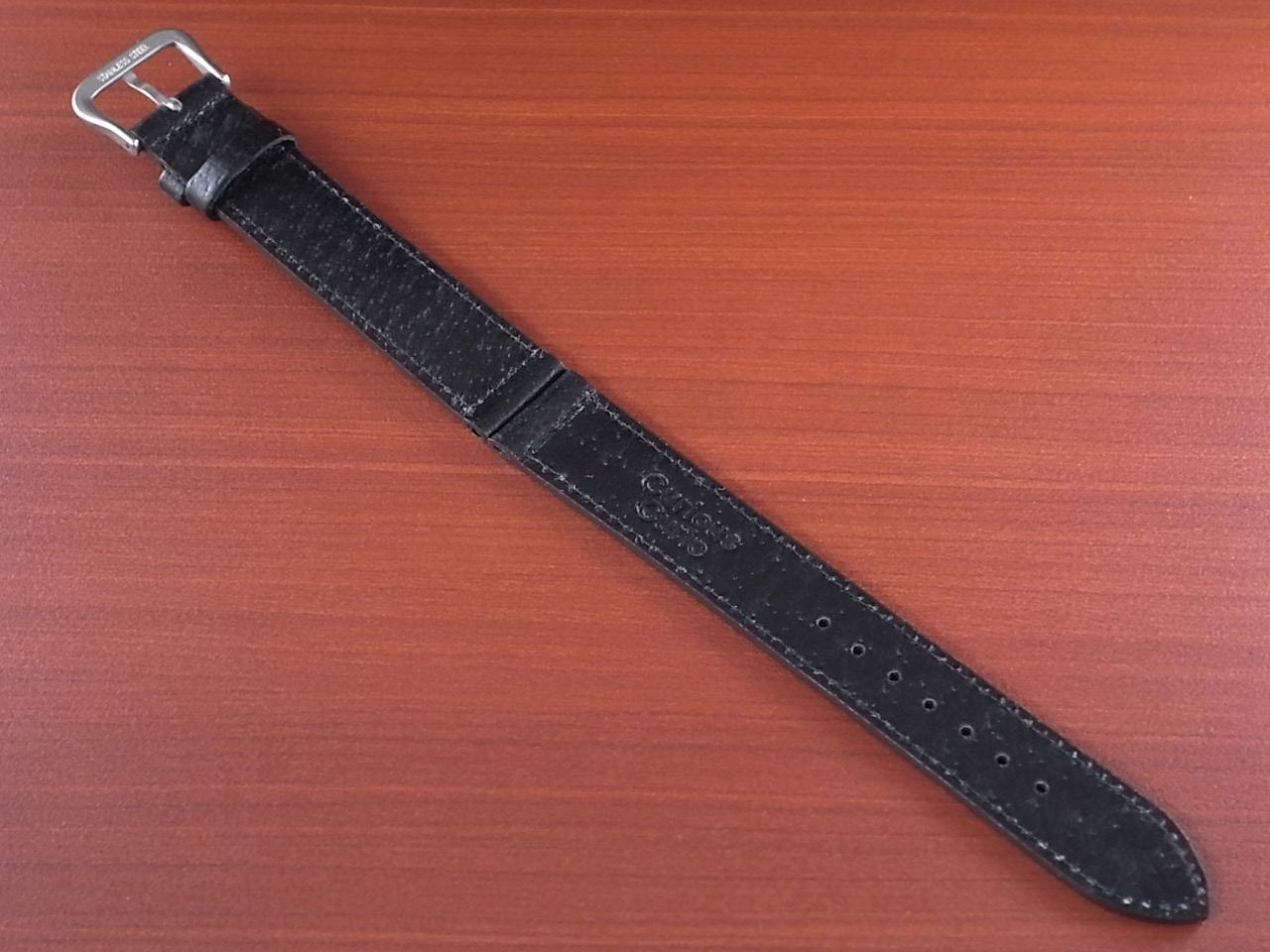 ピッグ革ベルト 黒 14、15、16、17、18、19、20mm オリジナル CSA-001aの写真2枚目