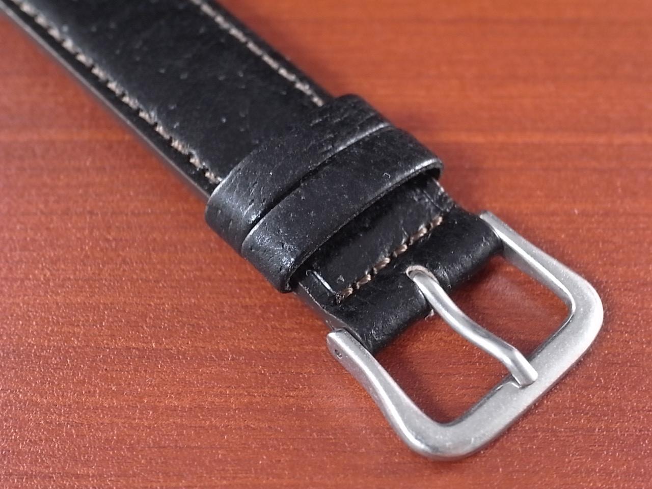 ピッグ革ベルト 黒 14、15、16、17、18、19、20mm オリジナル CSA-001aの写真3枚目