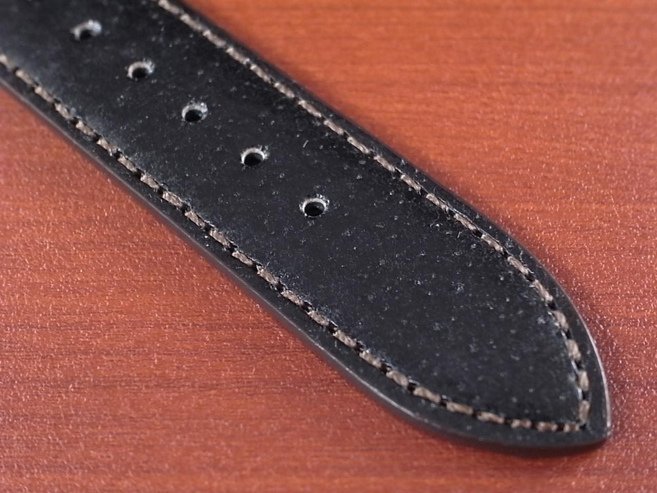 ピッグ革ベルト 黒 14、15、16、17、18、19、20mm CSA-001aの写真5枚目