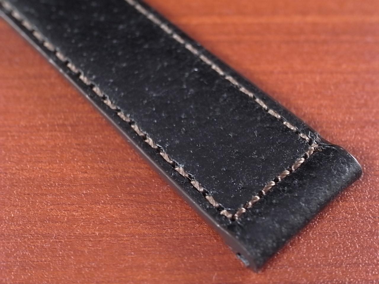 ピッグ革ベルト 黒 14、15、16、17、18、19、20mm CSA-001aの写真6枚目