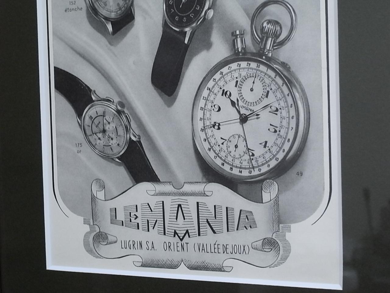 レマニア アドバタイジングA 木製フレーム(小) 1940年代の写真3枚目