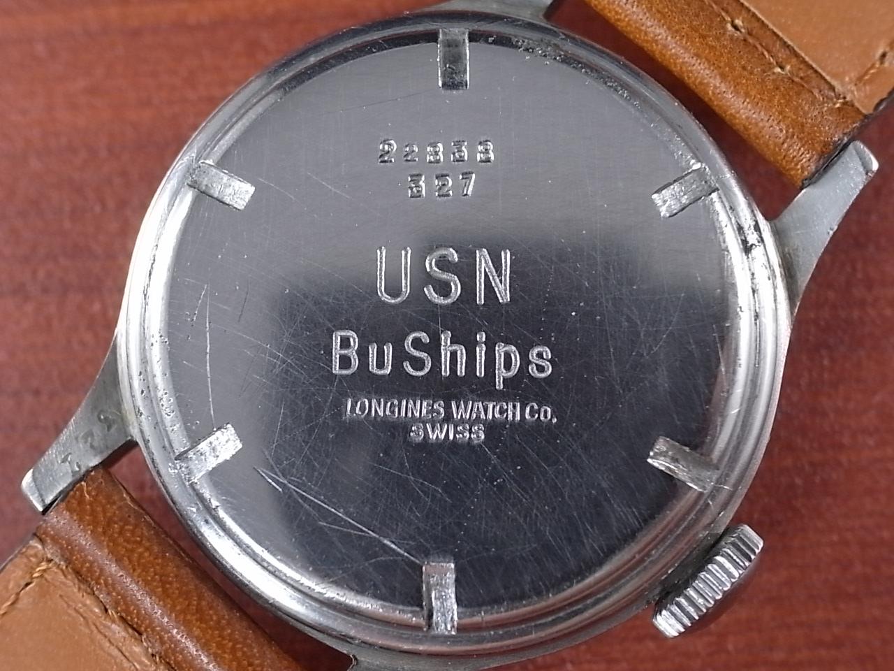 ロンジン 軍用時計 米海軍 USN BuShips 1940年代の写真4枚目