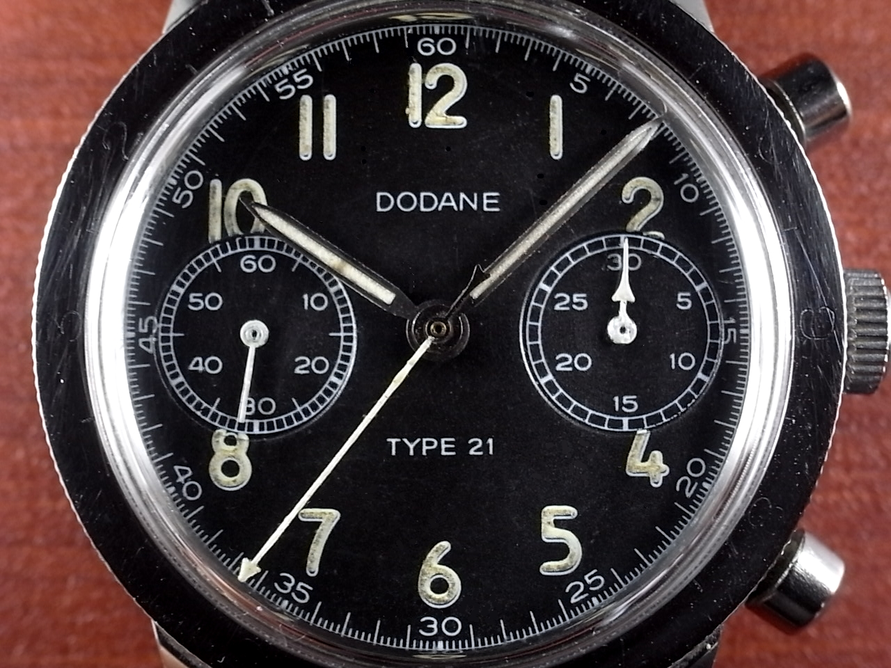 DODANE ドダンヌ  Type21 フランス空軍 クロノグラフ 1960年代の写真2枚目