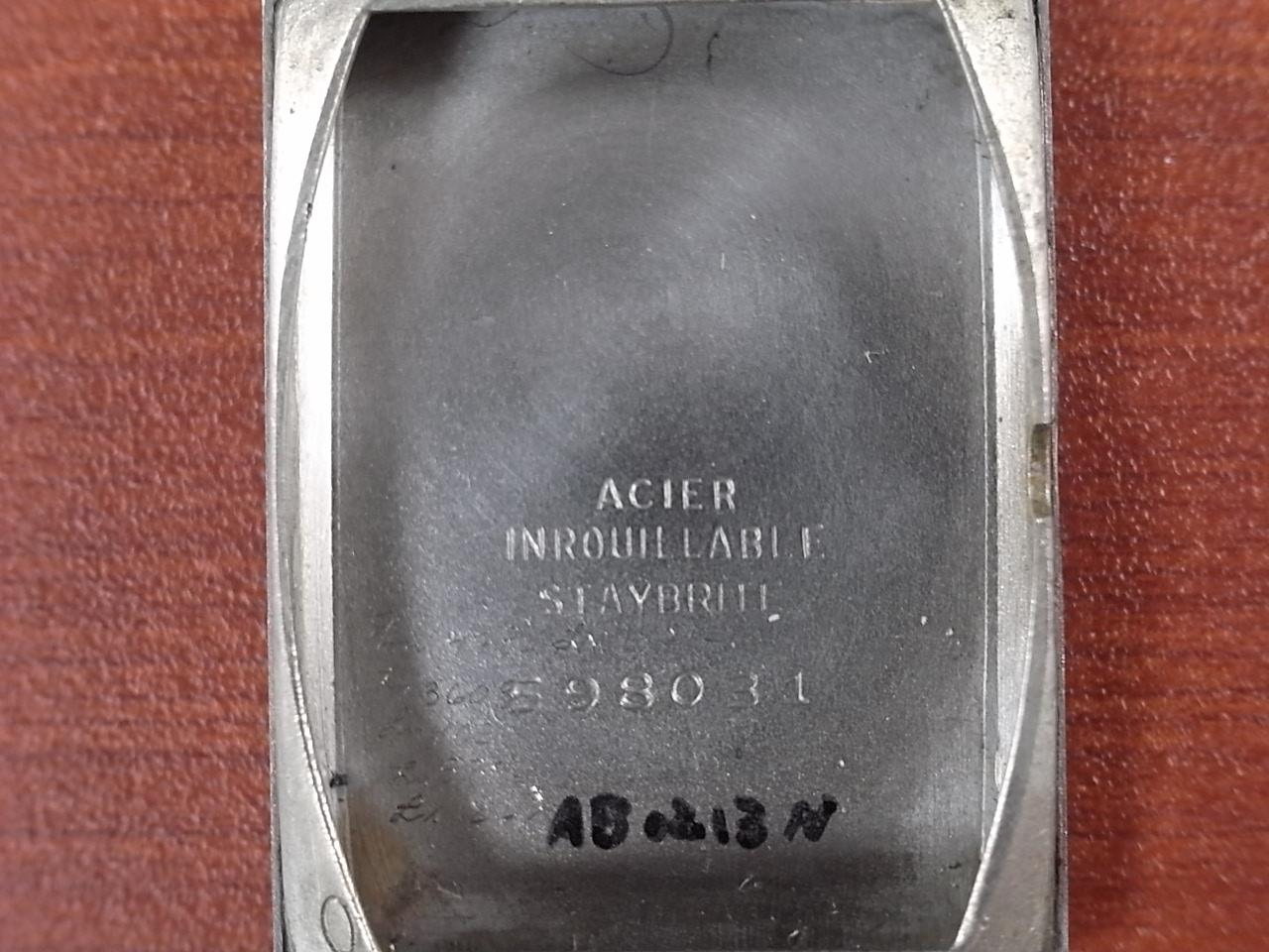 ティソ レクタンギュラー アールデコダイアル 1930年代の写真6枚目