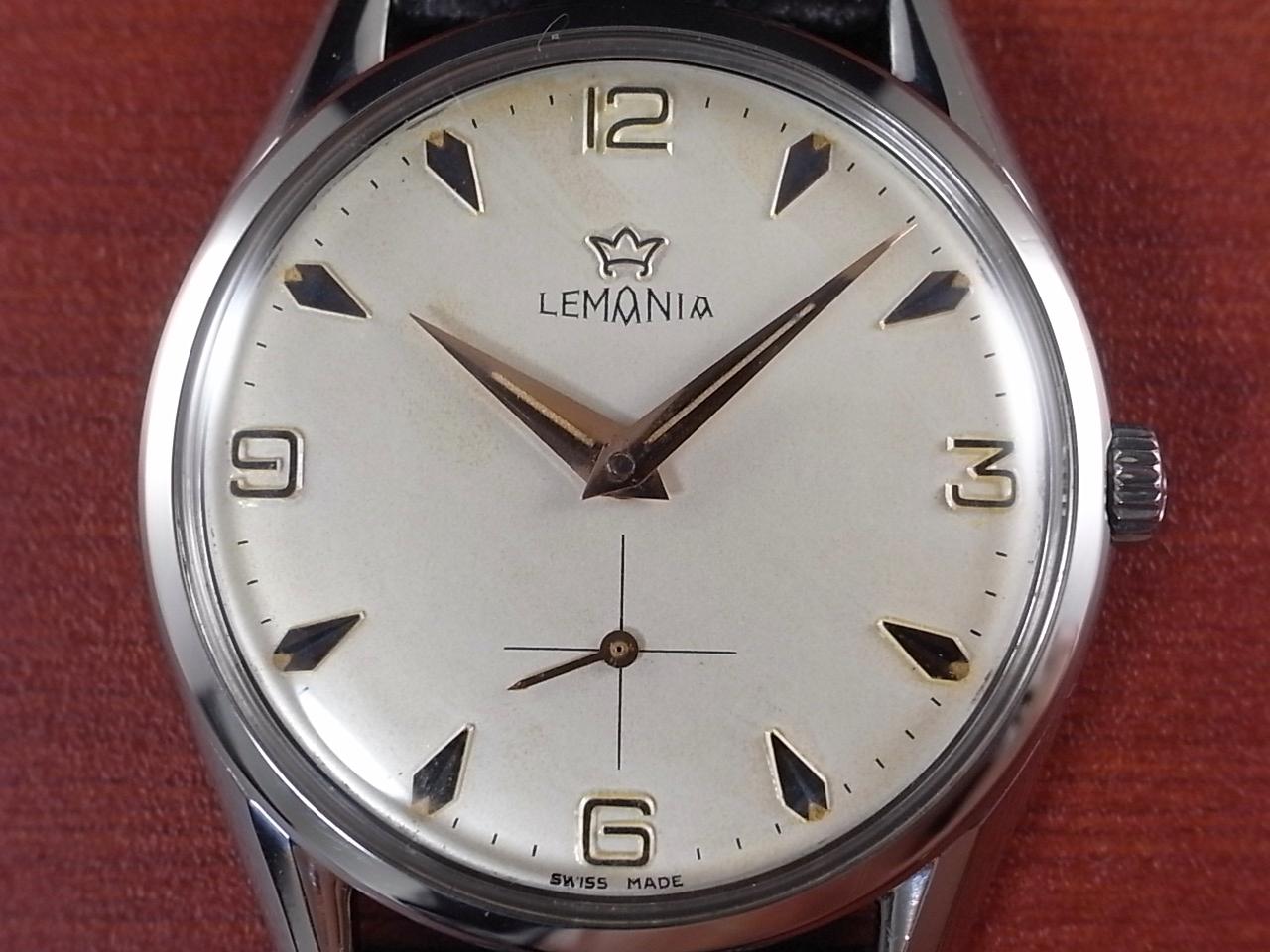 レマニア スモールセコンド ホワイトダイアル Cal.3000 1960年代の写真2枚目