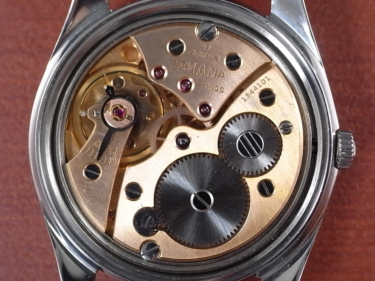 レマニア スモールセコンド ホワイトダイアル Cal.3000 1960年代の写真5枚目