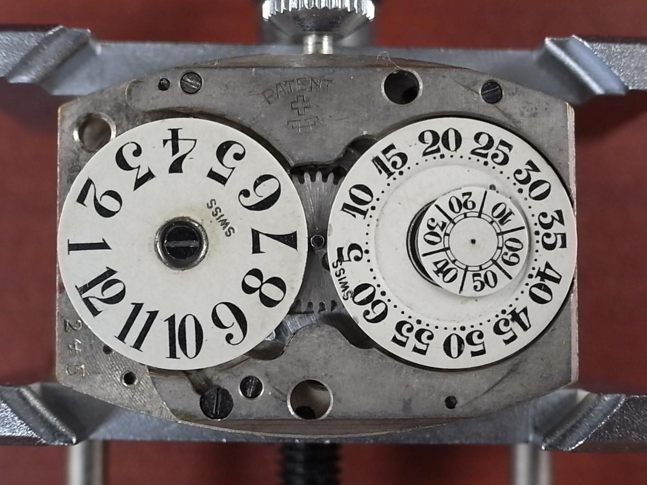 LACO ラコ 鉄仮面 ディスクデジタル ジャンピングアワー アールデコ 1930年代の写真6枚目