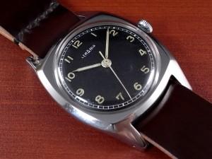 レマニア 軍用時計 チェコスロバキア空軍 ラージクッションケース 1940年代