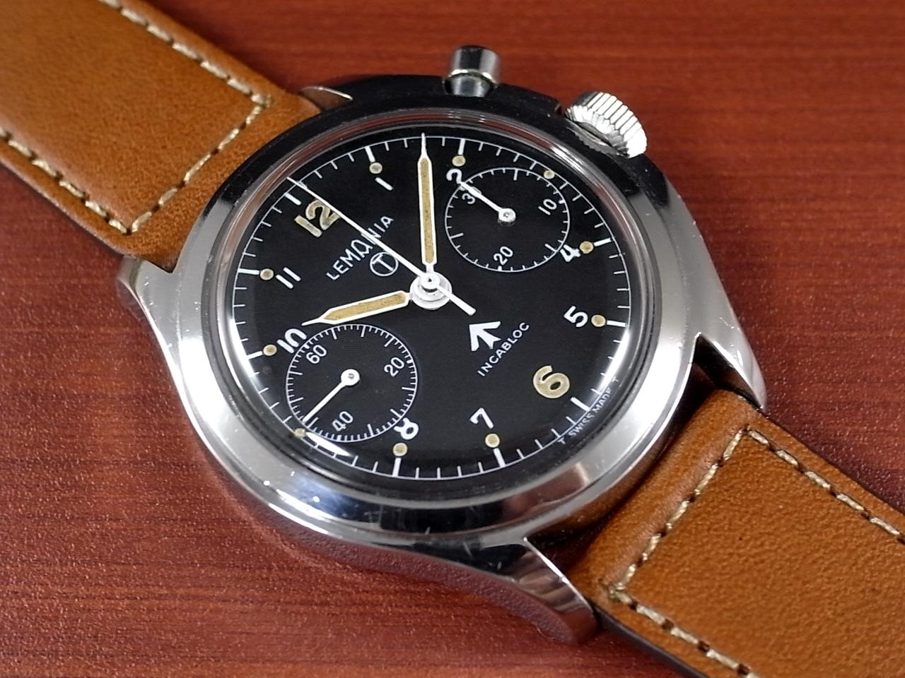 レマニア 軍用時計 イギリス空軍 6BB ワンプッシュクロノ 1960年代のメイン写真