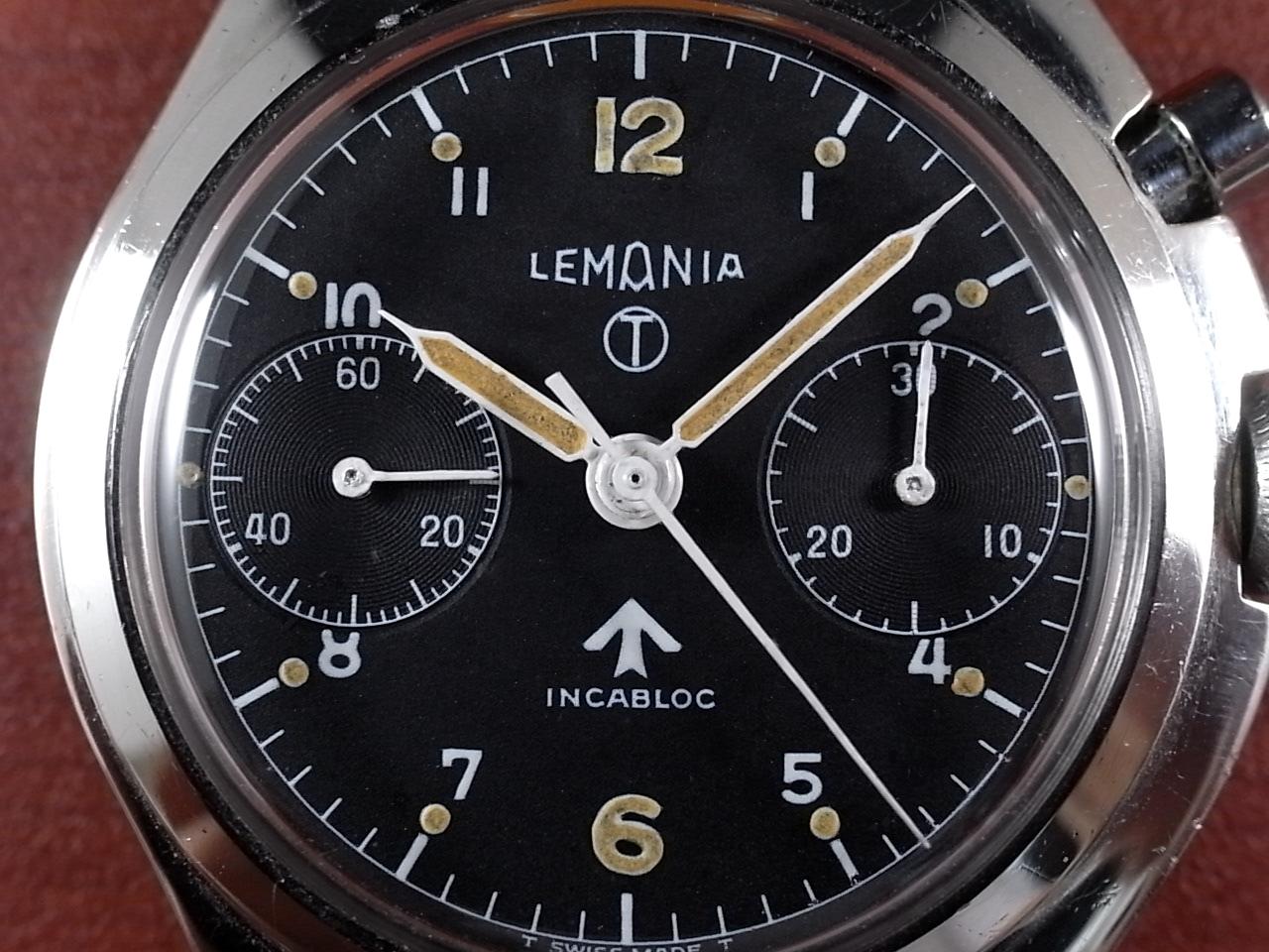 レマニア 軍用時計 イギリス空軍 6BB ワンプッシュクロノ 1960年代の写真2枚目