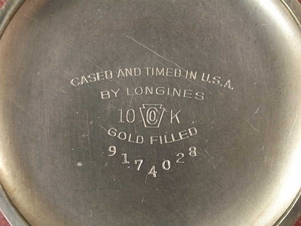 ロンジン リンドバーグ 航空時計 10KYGF キャリバー12L(12.68N) 1940年代の写真6枚目