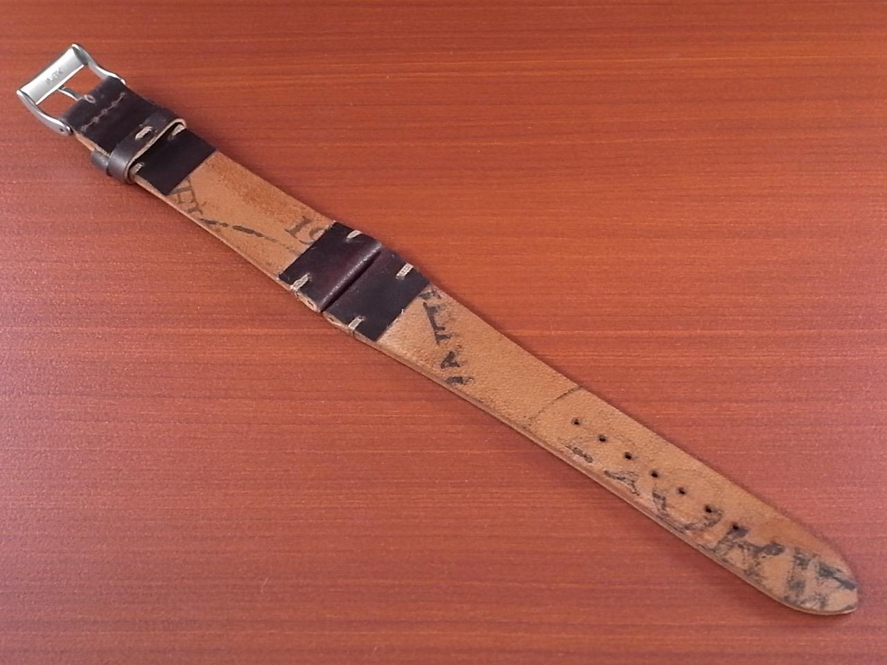 ホーウィン シェルコードバン 革ベルトの写真2枚目