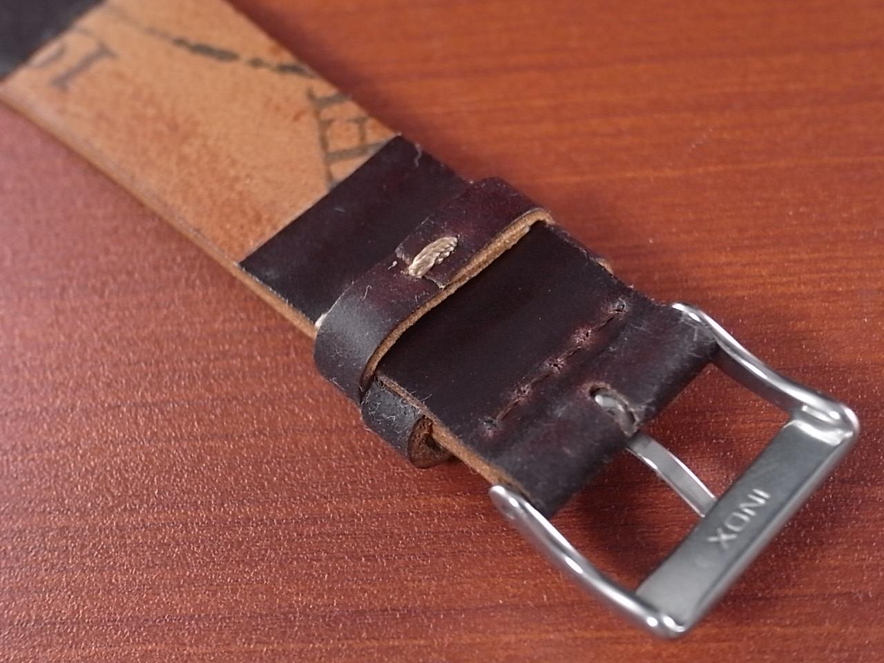 ホーウィン シェルコードバン 革ベルトの写真4枚目