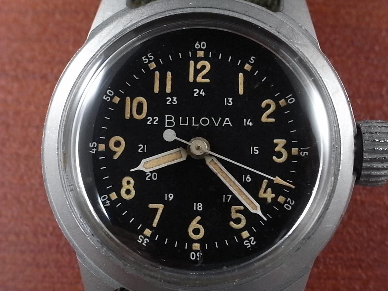 ブローバ ミリタリー アメリカ軍用時計 Type A17A 1950年代の写真2枚目