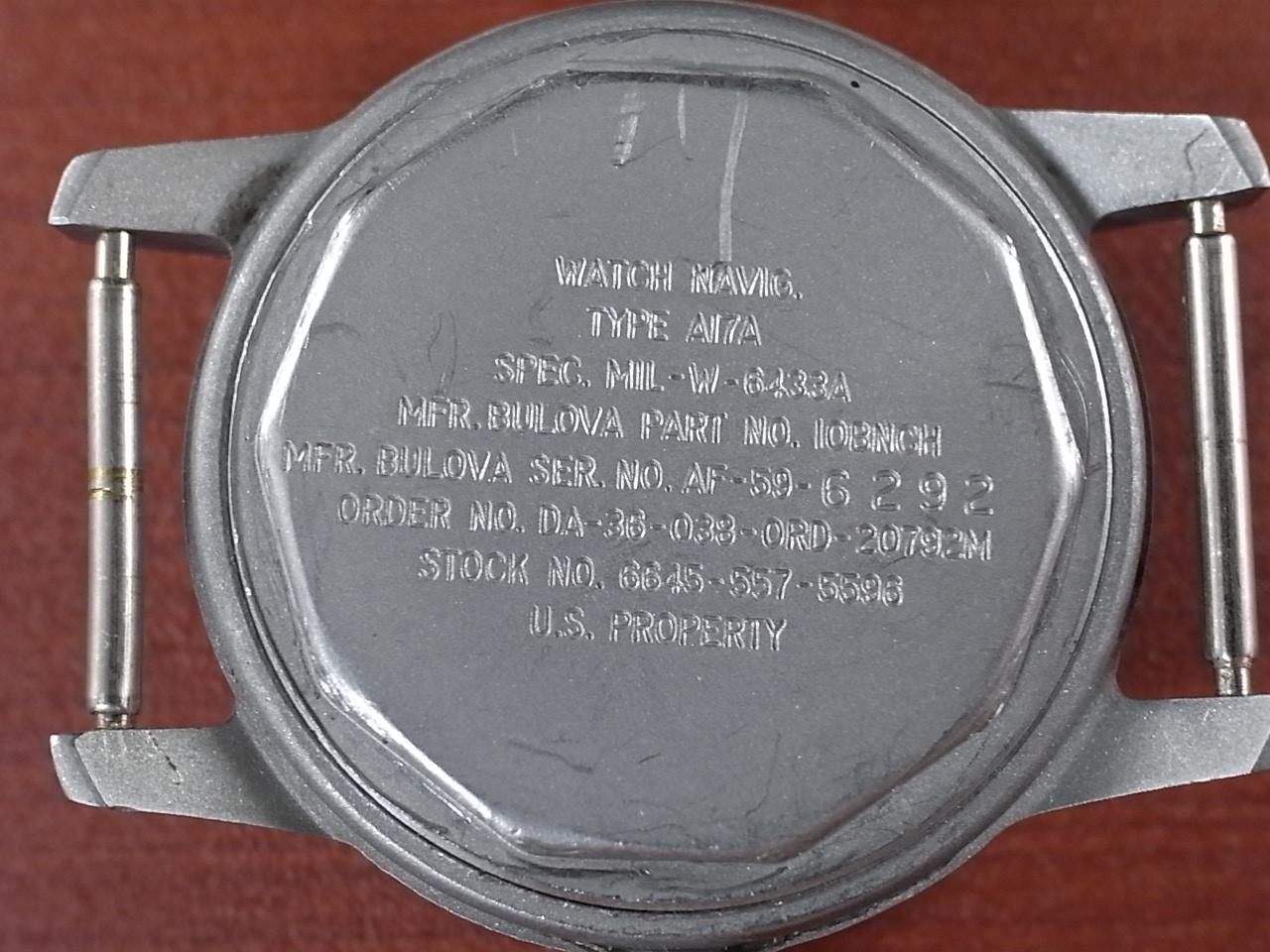 ブローバ ミリタリー アメリカ軍用時計 Type A17A 1950年代の写真4枚目