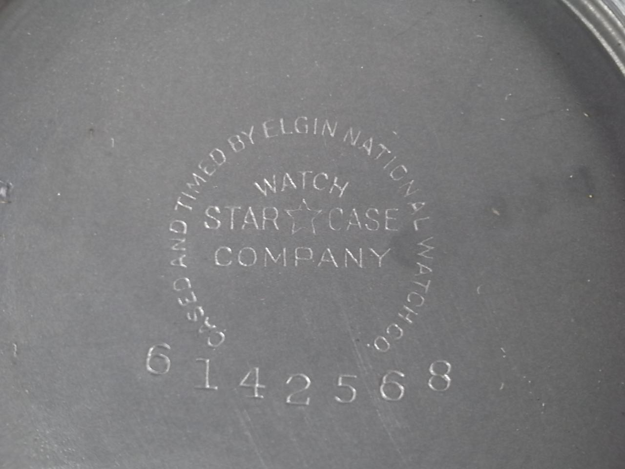 エルジン ミリタリー アメリカ陸軍航空隊 タイプA-11 24時間時計 1940年代 の写真6枚目