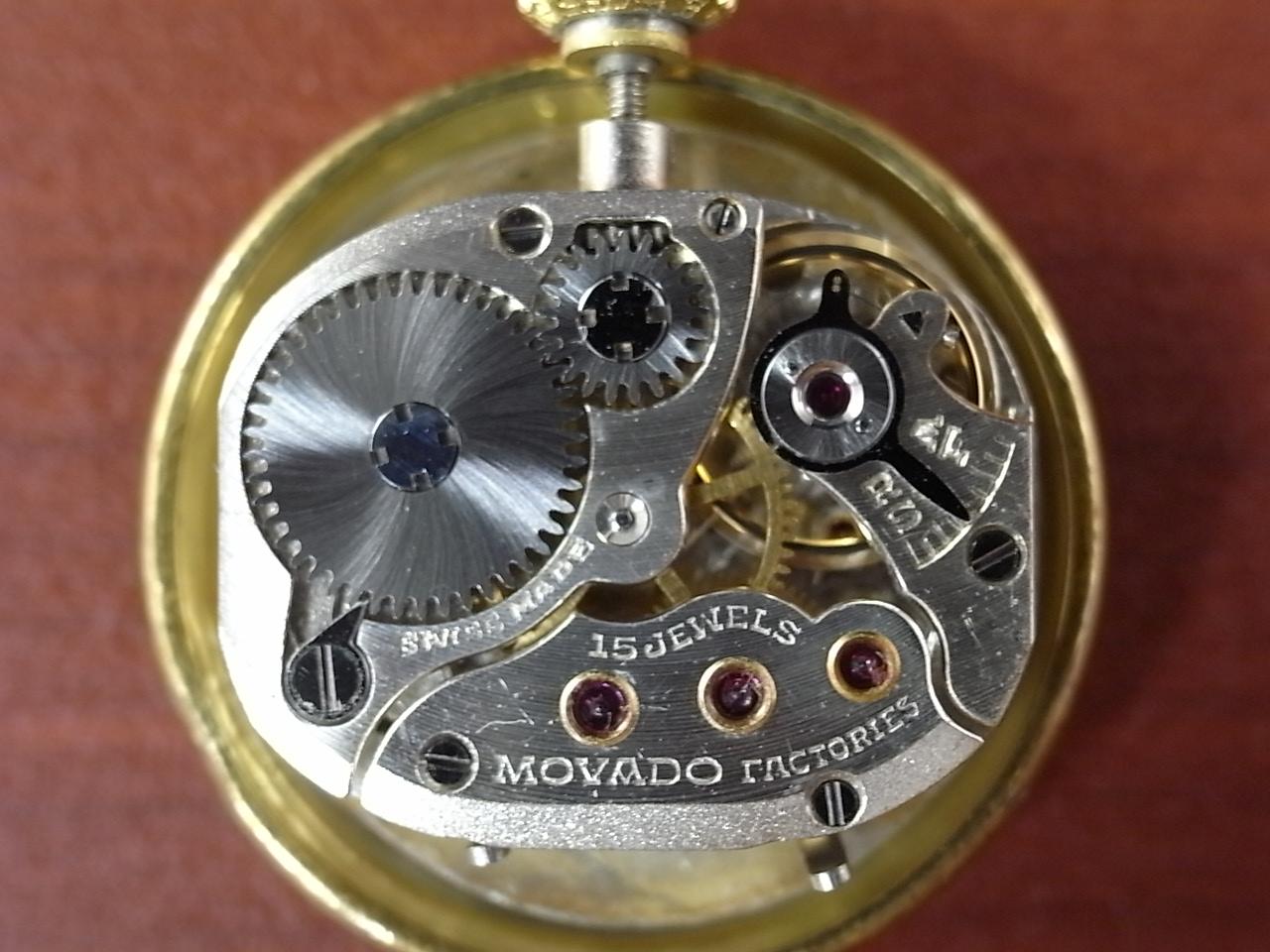 モバード レディース 18KYG デイデイト  チューラーWネーム 1940年代の写真5枚目