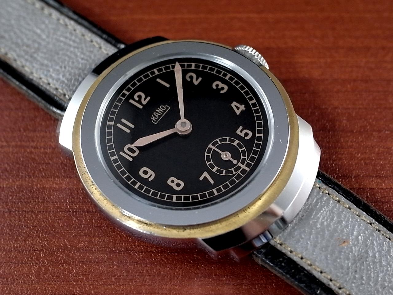 カーノ アールデコ ブラックミラーダイアル N.O.S. ドイツ時計 1930年代のメイン写真